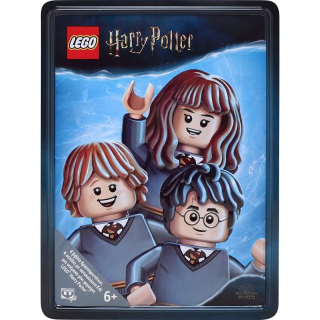 LEGO HARRY POTTER: ΜΕΤΑΛΛΙΚΟ ΚΟΥΤΙ ΠΑΙΔΙΚΑ ΒΙΒΛΙΑ